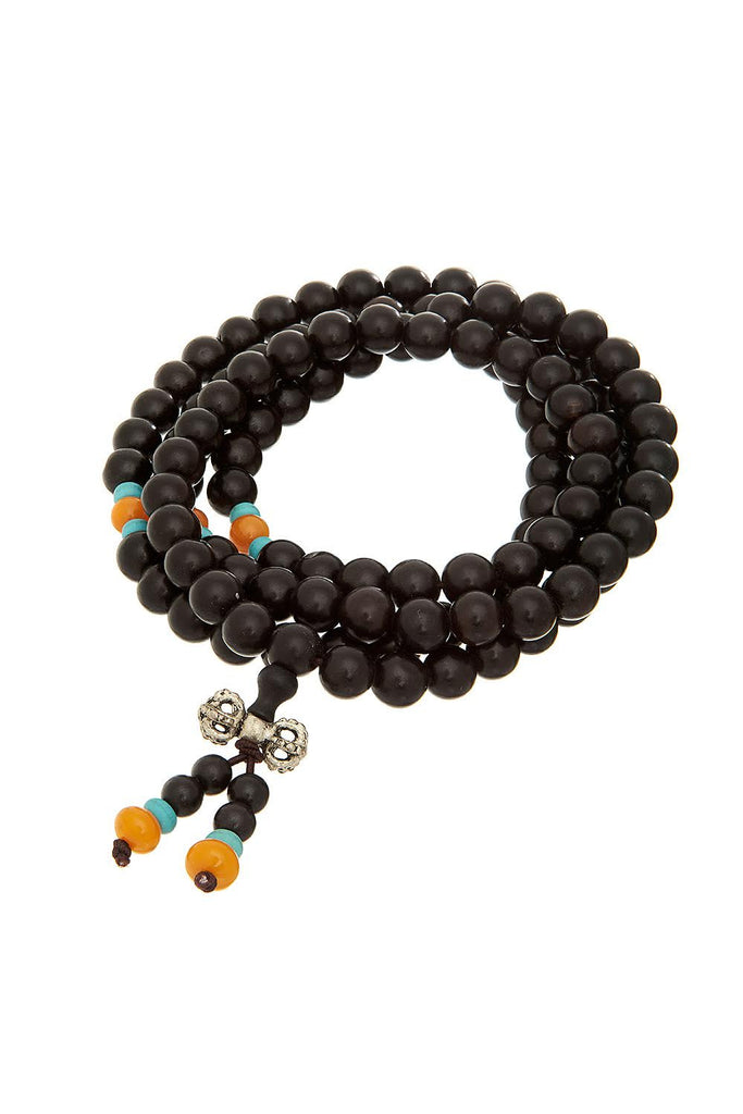 Gummi Mala Brown Bracelet - Sugar NY