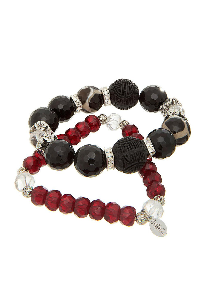 Gummi Stone Brown Bracelet - Sugar NY