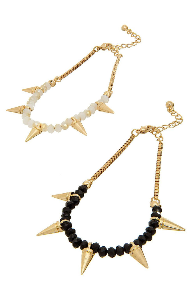 Double Spike Bracelet - Sugar NY