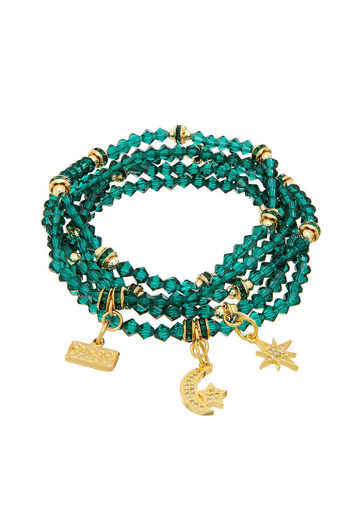 Gummi Star Green Bracelet - Sugar NY