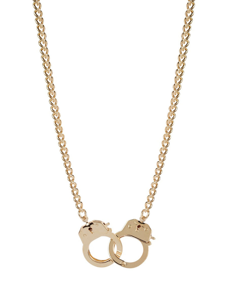Cuffed Gold Necklace - Sugar NY