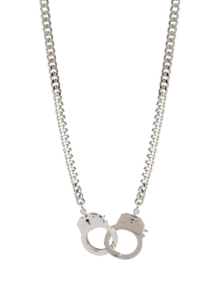 Cuffed Silver Necklace - Sugar NY