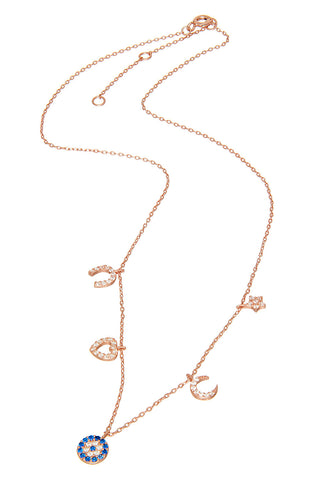 Sterling Horn Necklace