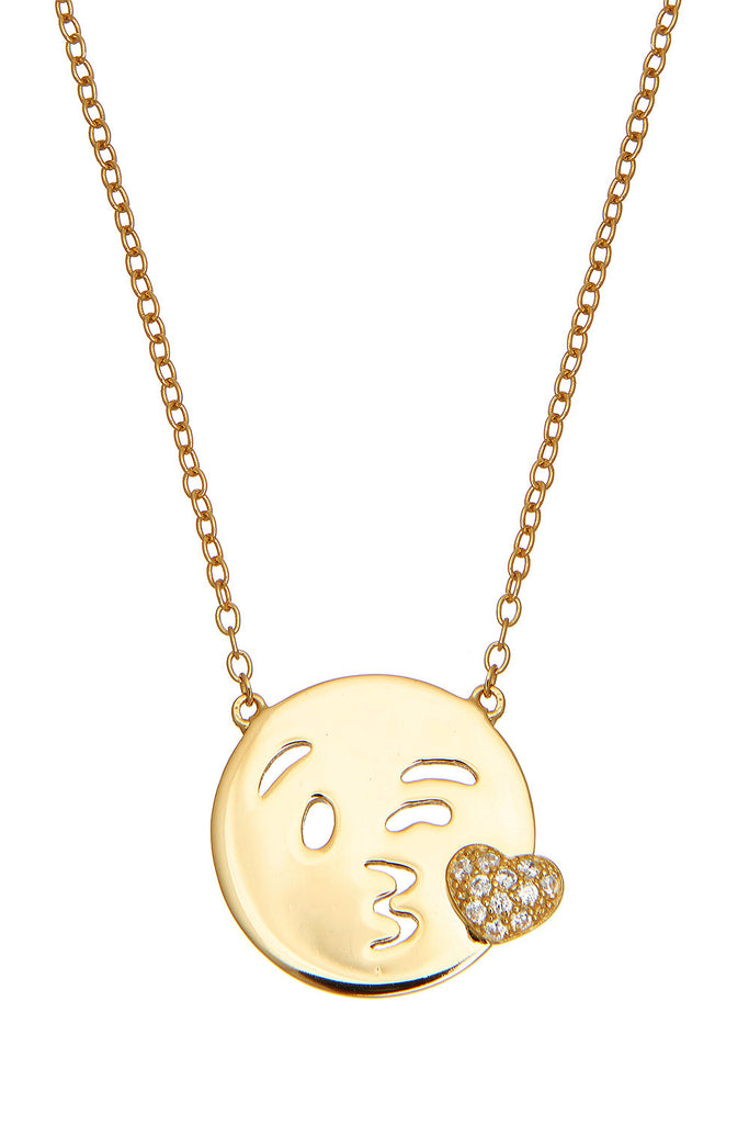 Sterling Wink Necklace - Sugar NY