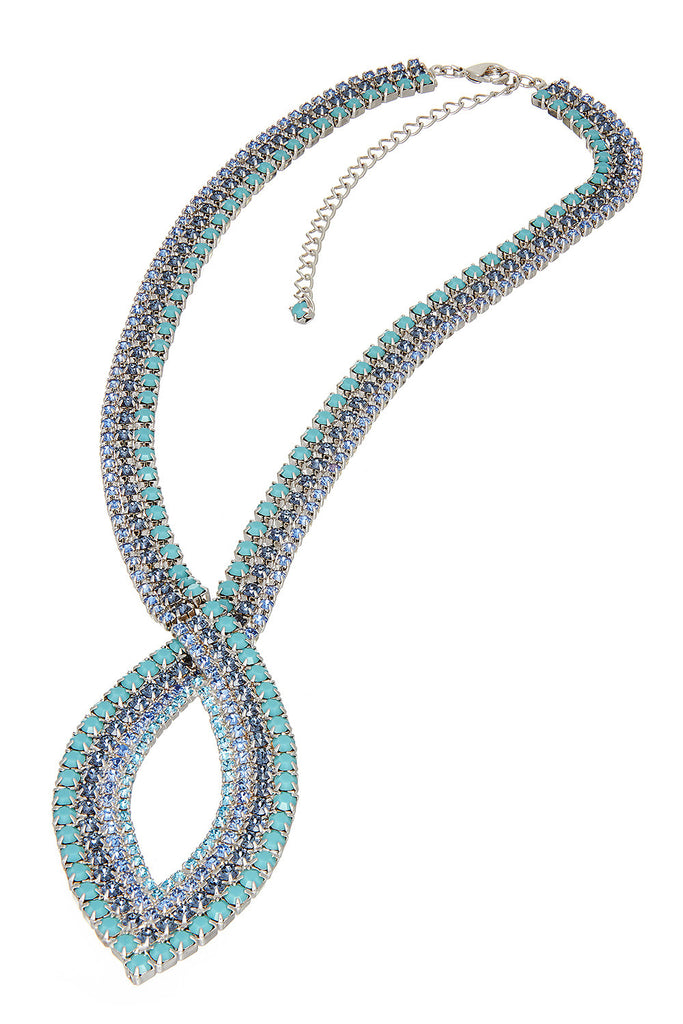 Sprinkled Wave Necklace - Sugar NY