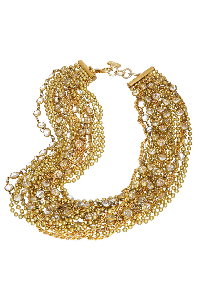 Sugar Drop Clear Necklace - Sugar NY