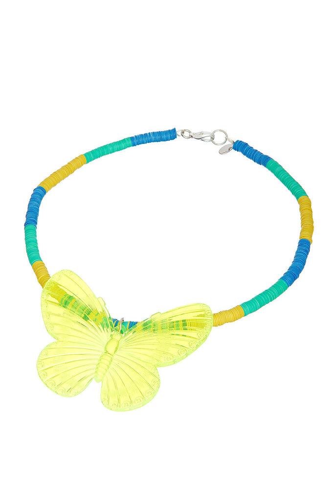 Swirl Yellow Necklace - Sugar NY
