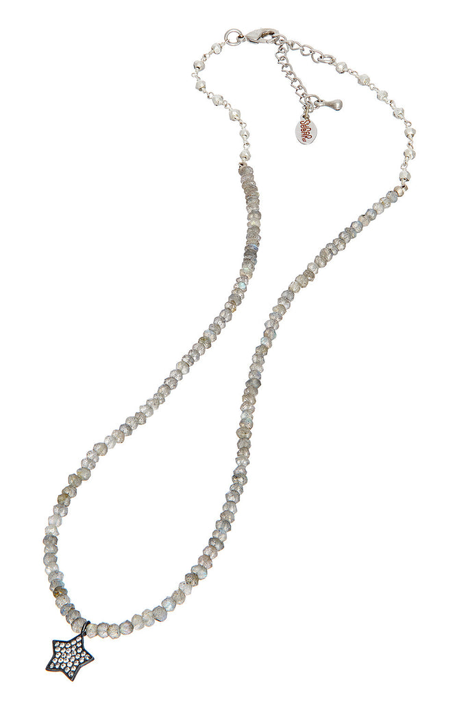 Sugar Rox Silver Necklace - Sugar NY