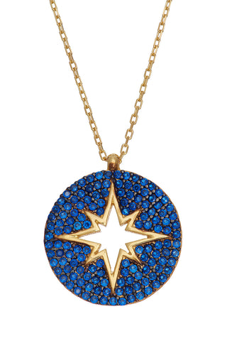 Sprinkled Starfish Gold Necklace