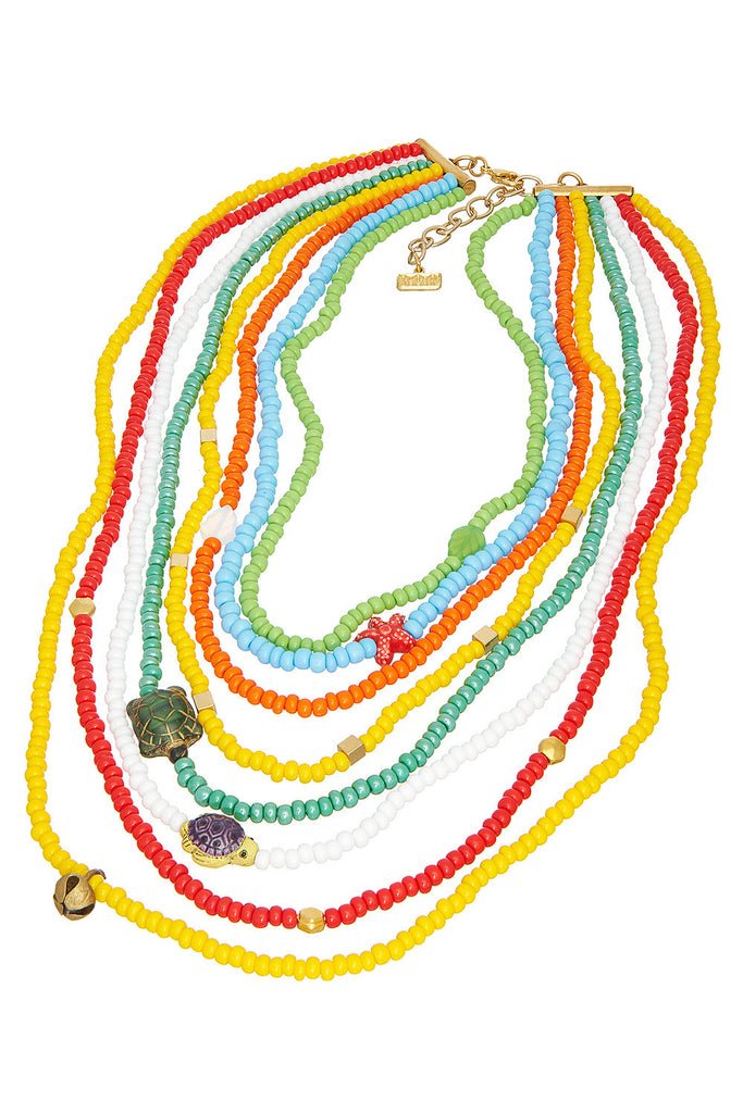 Beaded Treasure Necklace - Sugar NY