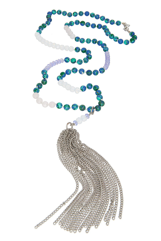 Sweet Aqua Necklace - Sugar NY