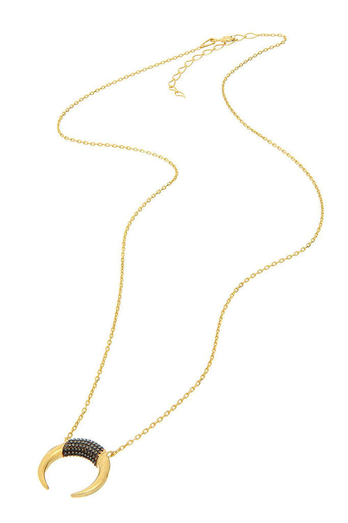 Sterling Horn Necklace - Sugar NY