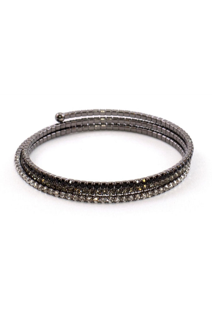 Frosted Black Bracelet - Sugar NY