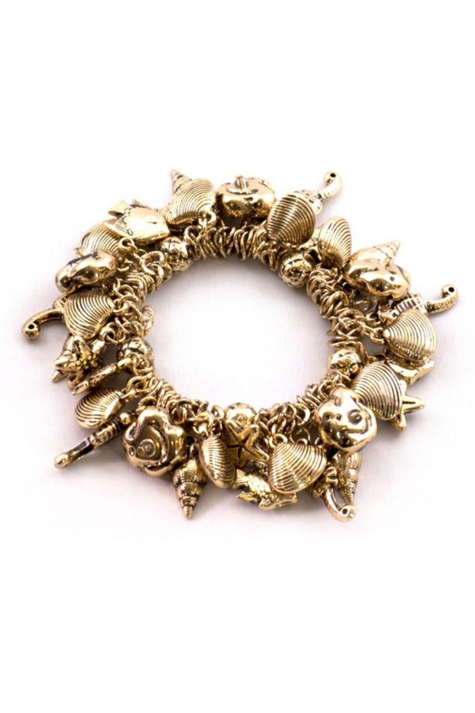 Gummi Fish Gold Bracelet - Sugar NY