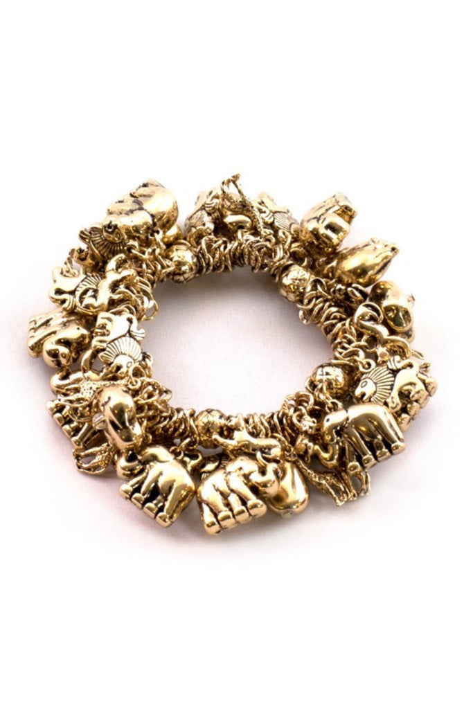 Gummi Safari Gold Bracelet - Sugar NY