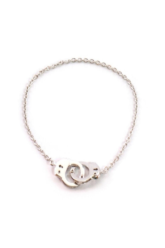 Cuffed Silver Anklet - Sugar NY