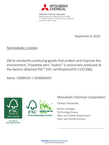 sustainable natural fabric certification