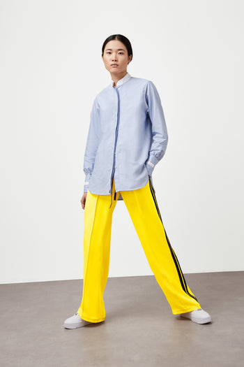 The Classic Jogger - Daffodil Yellow & Navy Silk - SERENA BUTE