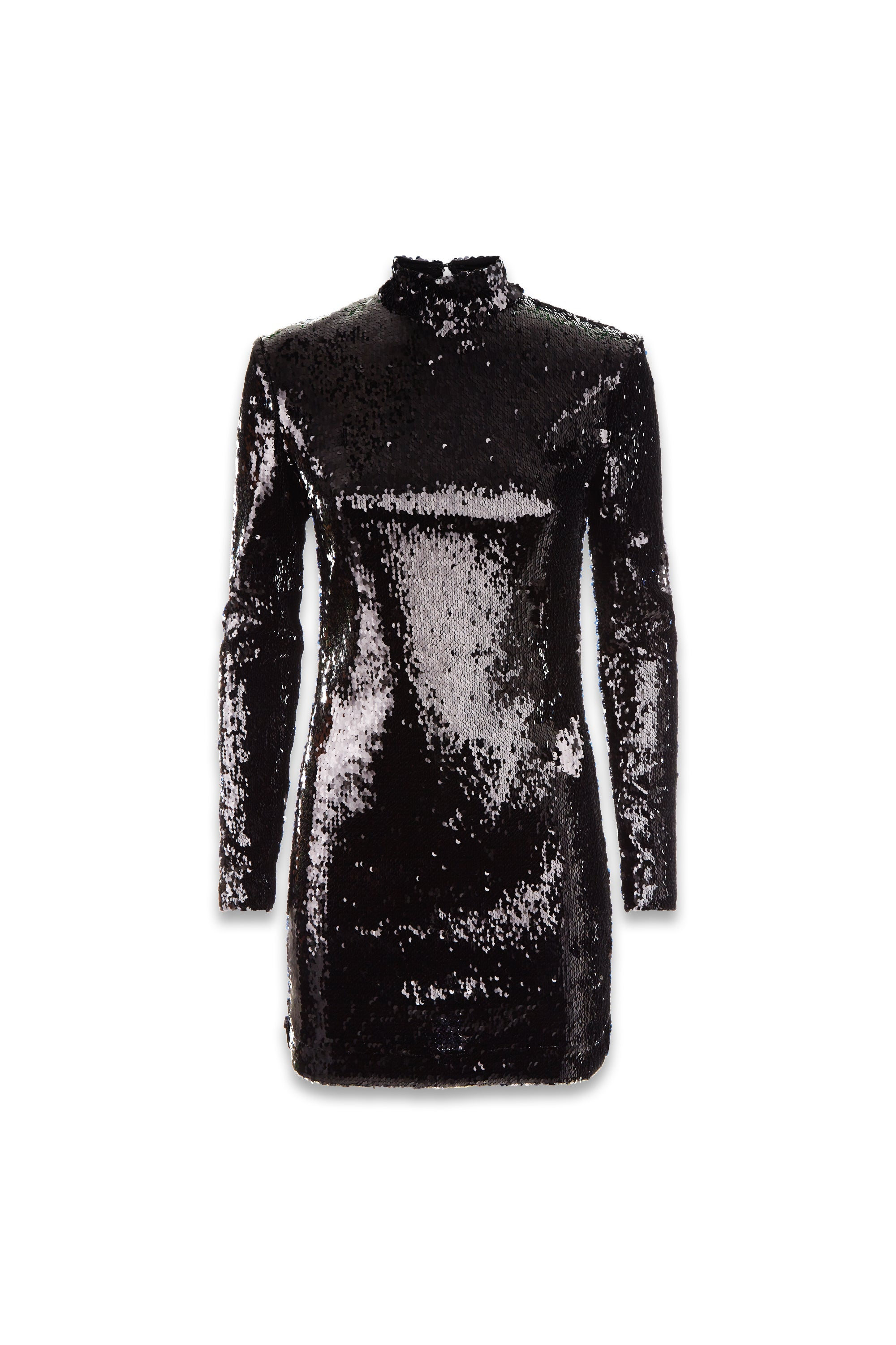 The Sequin Dress - Black