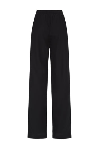The Classic Jogger - Black Silk - SERENA BUTE