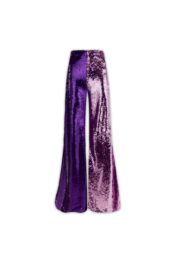 The Sequin Flare - Lilac & Purple Two Tone
