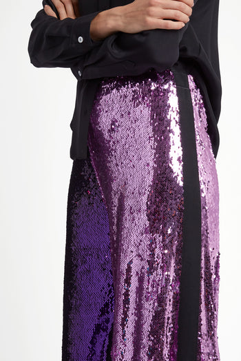The Sequin Flare - Lilac & Purple Two Tone - SERENA BUTE