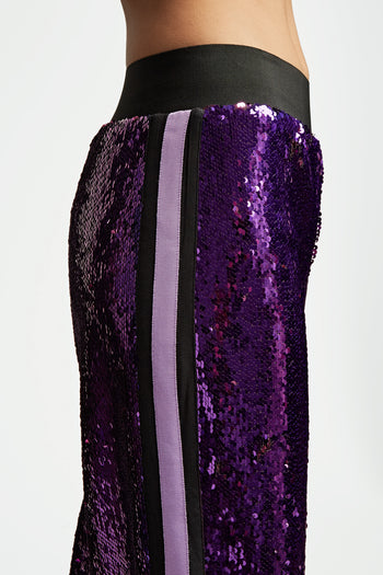The Sequin Jogger - Purple & Lilac - SERENA BUTE