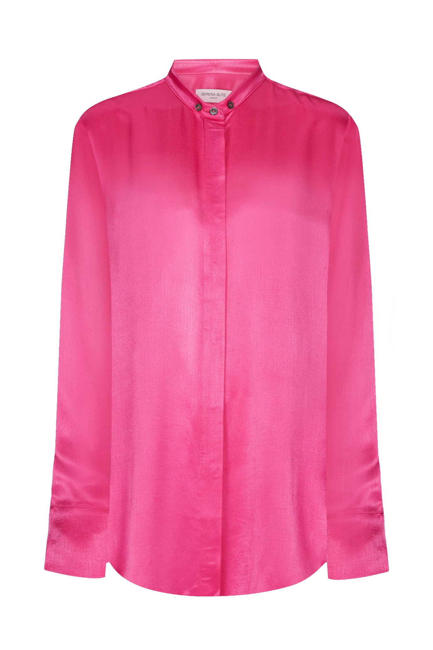 Peggy oversize shirt pink viscose Serena Bute