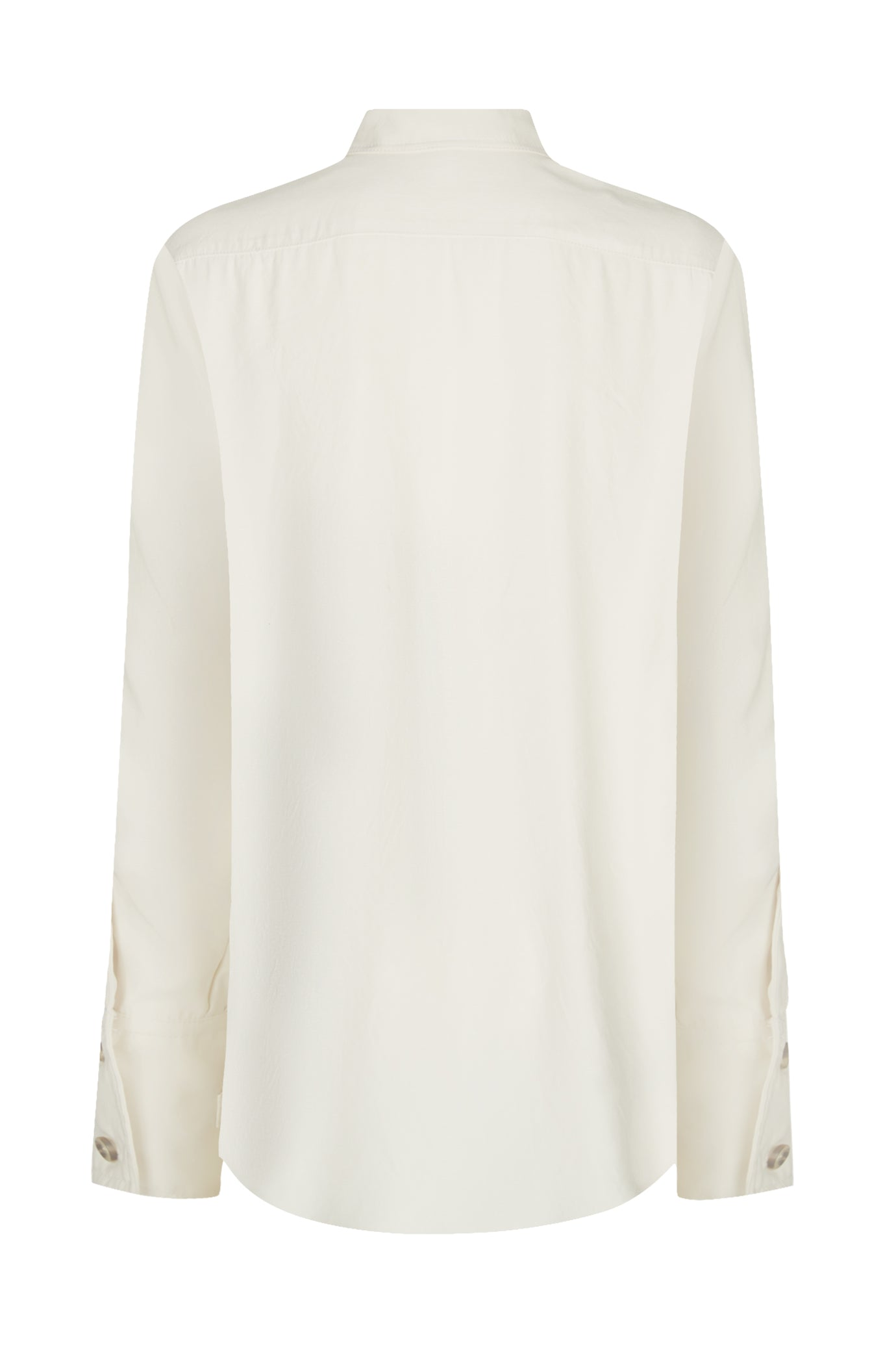 The Pocket Oversized Shirt - Cream Natural Fabric