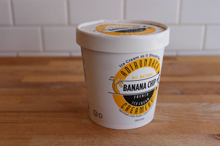 Arethusa Banana Chip Ice Cream