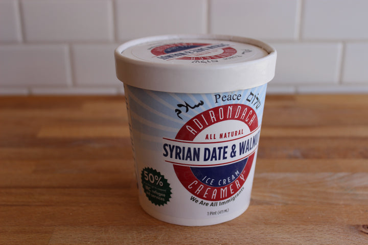 Adirondack Syrian Date & Walnut Ice Cream