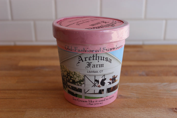 Arethusa Strawberry Ice Cream