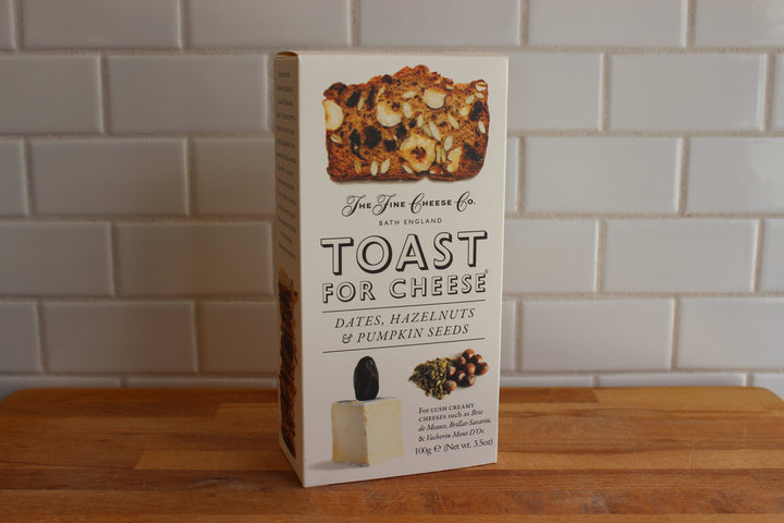 Toast for Cheese - Dates, Hazelnuts & Pumpkin Seeds
