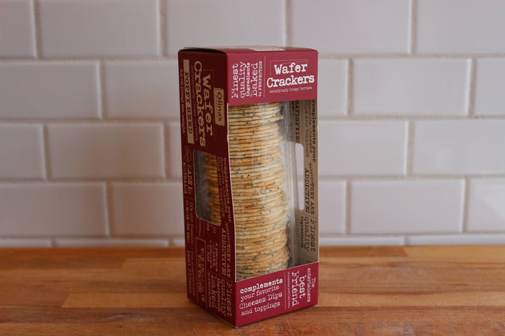 Wafer Crackers, Poppy seed