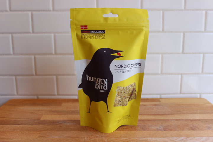 Hungry Bird Nordic Crisps, Rye + Sea Salt