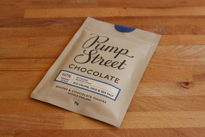 Pump Street Chocolate - Rye Crumb, Milk & Sea Salt