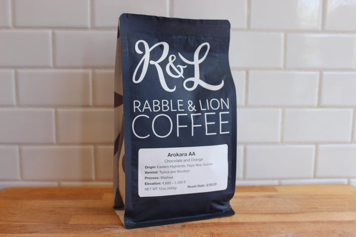 Rabble & Lion Arokara Coffee