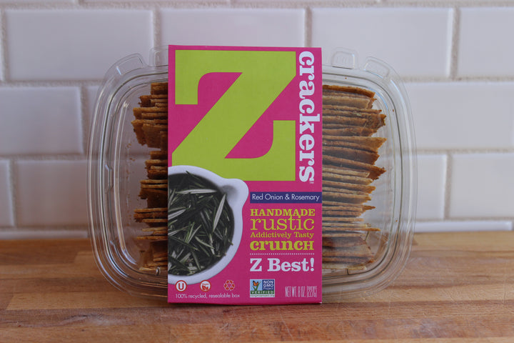 Z Crackers - Red Onion & Rosemary