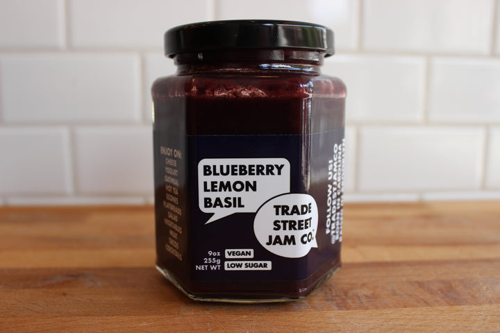 Trade Street Blueberry Lemon Basil Spread