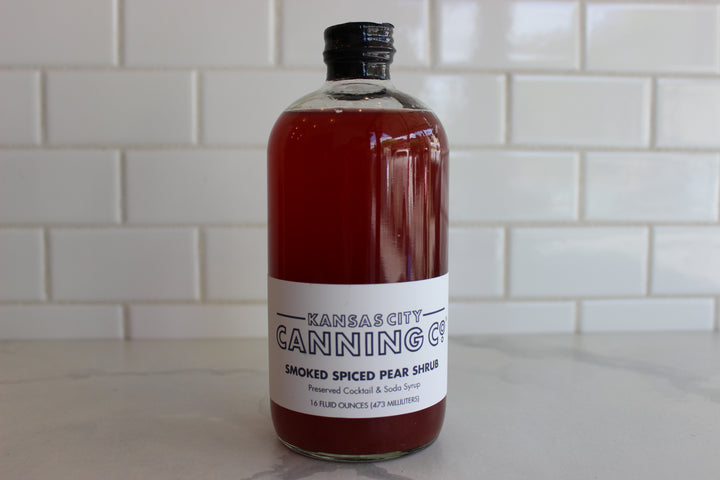 Kansas City Canning Company - Smoked Spiced Pear Shrub