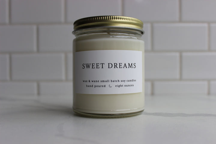 Wax & Wane Candle - Sweet Dreams