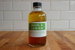 Basil and Lemon Olive Oil Dressing