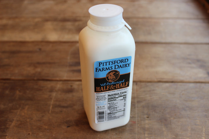 Pittsford Farms Dairy Half and Half Pint