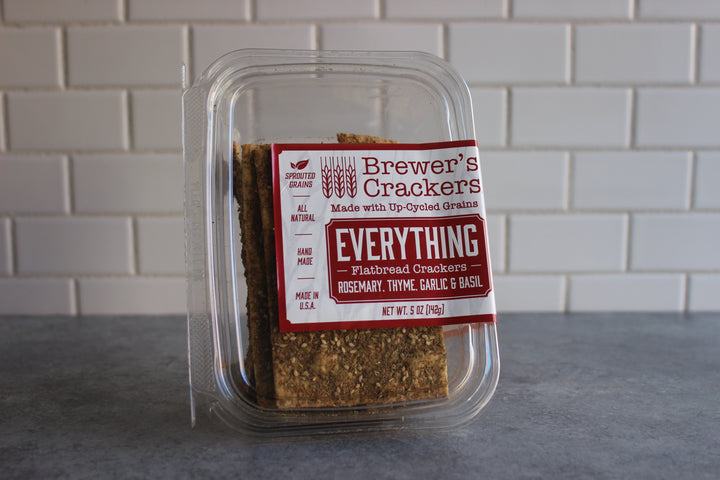 Brewer's Everything Flatbread Crackers