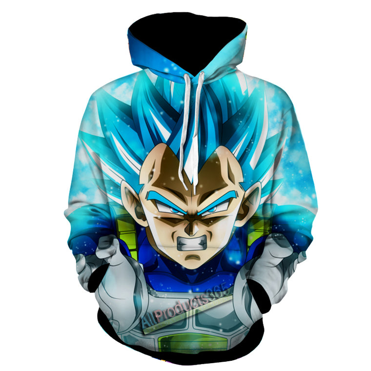 """SSB Vegeta's Final Flash"" Hoodie"