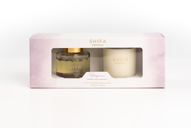 NEW! Luxury Mini Diffuser & Candle Gift-Sets
