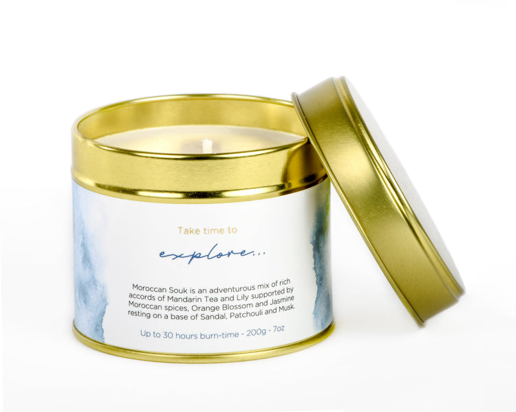 Moroccan Souk - Shifa Aromas - Scented Soy Candle - Luxury Candles