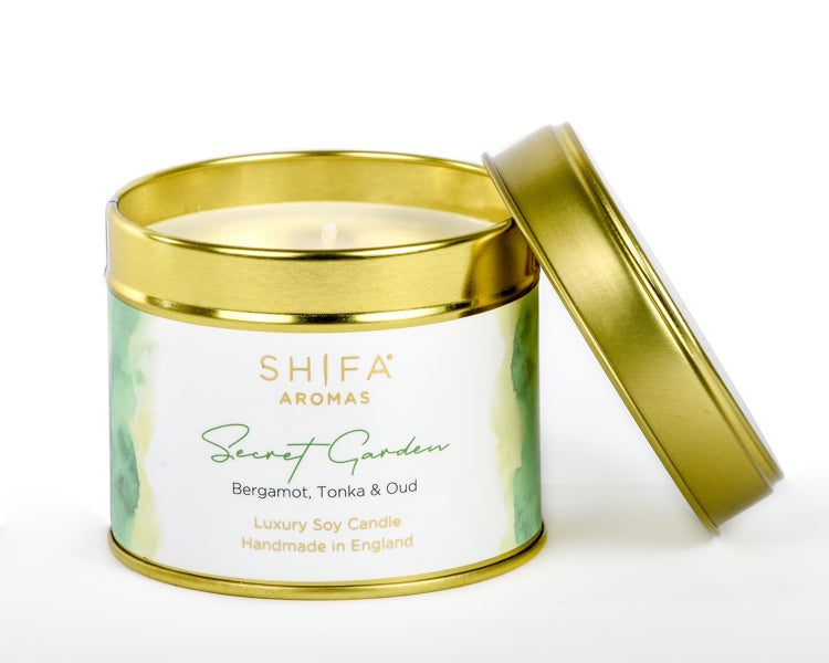 Secret Garden - Shifa Aromas - Scented Soy Candle - Luxury Candles