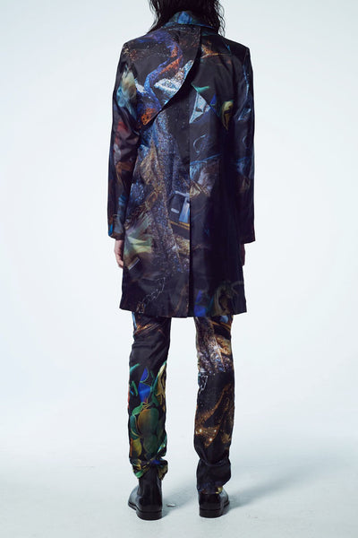 Slade Collection- Velvet Goldmine Inspired Graphic Printed Coat