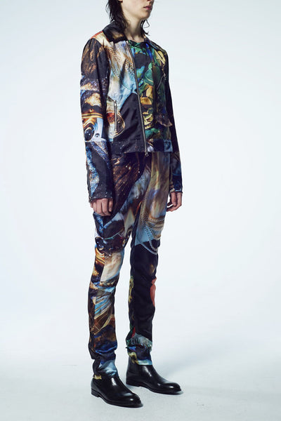 Slade Collection- Velvet Goldmine Inspired Graphic Jacket